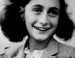 Anne Frank. Photo: Wikimedia Commons.