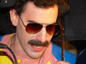 Actor Sacha Baron Cohen. The Jewish actor said he wrote his first sketch at the age of 9. Photo: Wikimedia Commons.
