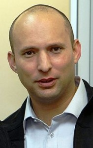 Naftali Bennett, head of the Jewish Home party, in Washington to lobby for further sanctions against the Iranian regime.