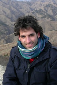 Gabriele Barbati, Jerusalem Correspondent for Radio Popolare Milano. Photo: GB.