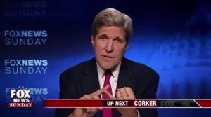 John Kerry on Fox News. Photo: Screenshot.