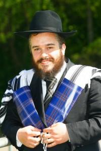 Rabbi Mendel Jacobs, Glasgow, Scotland. Photo: Electricscotland