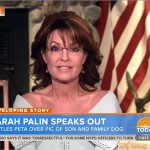 Sarah Palin. Photo: Screenshot.