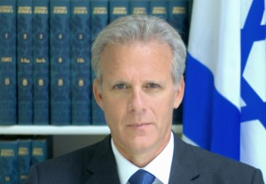 Former Israeli ambassador and Kulanu MK Michael Oren. Photo: Wikipedia.