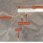 Satellite imagery reveals Hezbollah has constructed a UAV landing strip in the Bekaa Valley. PHOTO: Google Earth/Jane's.