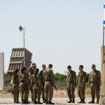 """IDF soldiers holding a moment of silence in Israel for those killed in the Holocaust. Israelis tout """"resilience"""" and call it -- like the survival and continued procreation of Jews after the Holocaust -- a """"victory"""" over our enemies, Ruthie Blum explains. Photo: Twitter, The David Project."""