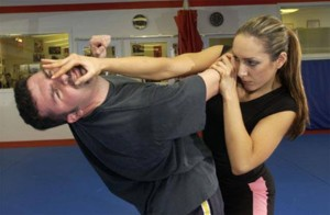 Self-defense for Jews is the purpose of The Legion. Photo: Krav Maga Practitioners/Facebook.