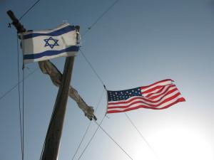An Israeli and American Flag. Photo: Wikimedia Commons.