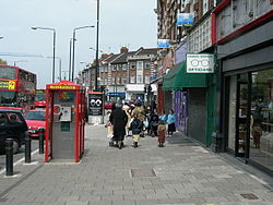 The Stamford Hill district of London, where antisemitic incidents took a sharp rise this year. Photo: Wikipedia.
