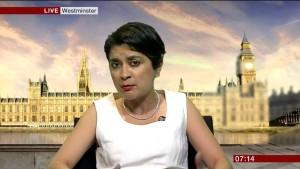 UK Labour Party antisemtism  probe chairwoman Sami Chakrabarti. Photo: YouTube.