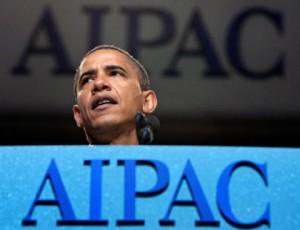 President Obama addresses AIPAC. Photo: AIPAC.