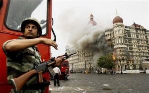 Terror attacks in Mumbai, November 2008, killing 164 people. Photo: provided.