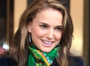 """Natalie Portman. The actress said she acted like an """"average everyday Jewish mother"""" on the set of her new film. Photo: wiki commons."""