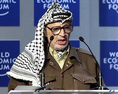 Yasser Arafat. Photo: World Economic Forum.