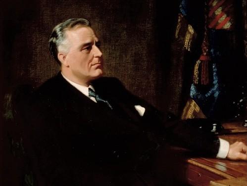 Franklin Delano Roosevelt. Photo: Wikimedia Commons.