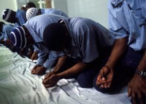 Muslim convicts in prison. Photo: IPT.