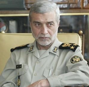 Iranian Army Commander Major General Ataollah Salehi. Photo: Screenshot / Fars.