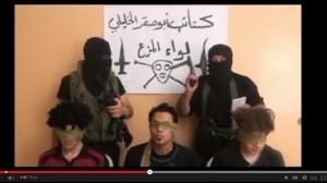 Palestinian kidnapping parody