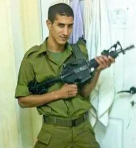 IDF St.-Sgt. Eliav Kahlon, 22, of Safed, killed in figting in Gaza Photo: family