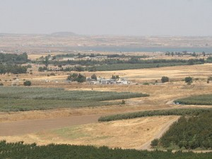 The Israel-Syria border's Quneitra crossing. Photo: Wikimedia Commons.