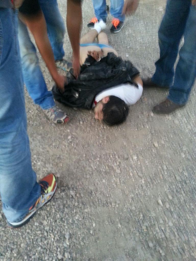 Gush Etzion stabbing suspect. Photo: Twitter