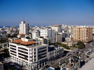 The skyline of Gaza City. The United States has announced a $50 million humanitarian aid program for the Gaza Strip. Photo: Wikimedia Commons.