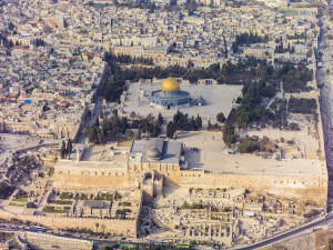 The Temple Mount in Jerusalem. Photo: Wikimedia Commons.