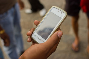 Sharing photos on smartphones can lead to jail time in Iran. Photo: Wikimedia Commons.