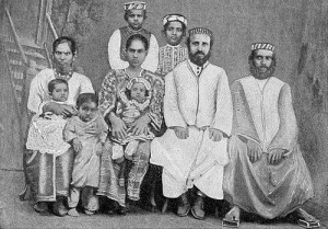 Cochini Jews, a community that originated in India and now has 25,000 members living in Israel. Photo: Wikimedia Commons.