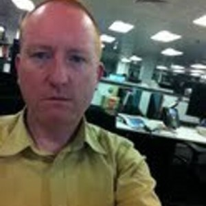 Times Editor Dominic Kennedy apologizes for his offensive Twitter post. Photo: Twitter.
