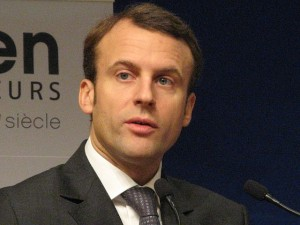 French Economy and Industry minister Emmanuel Macron visited the DLD tech conference in Tel Aviv on Tuesday. Photo: Wikimedia Commons.