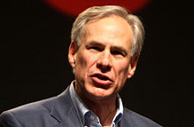 """Texas Governor Greg Abbott said he joins Israel's efforts to """"stomp out"""" terrorism. Photo: Wikimedia Commons."""