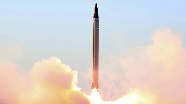 An Iranian missile test. Photo: Iranian Defense Ministry.