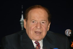 Casino magnate Sheldon Adelson. Reports of his warming to Republican presidential hopeful Marco Rubio are circulating. Photo: Wikimedia Commons.