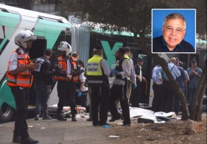 Richard Lakin, who succumbed to wounds he sustained in a terrorist attack on a bus in Jerusalem. Photo: courtesy.
