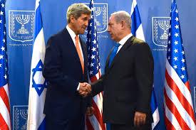 US Secretary of State John Kerry (left) with Israeli Prime Minister Benjamin Netanyahu. Photo: Wikipedia.