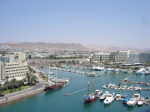 Eilat, Israel. Palestinian terrorism has not hindered tourism. Photo: Wikipedia.