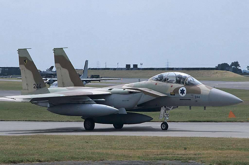 An Israeli Air Force F-151 plane. Photo: Wikipedia.