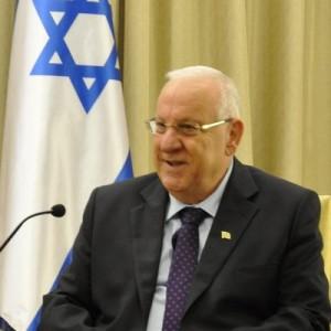 Israeli President Reuven Rivlin. Photo: Twitter.