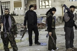 Free Syrian Army fighters. Photo: Wikimedia Commons.