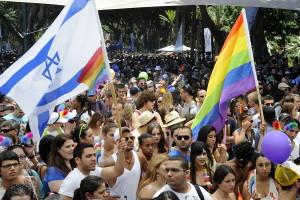 A gay pride parade in Tel Aviv. Photo: Wikipedia.