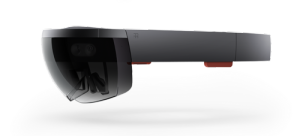 The IDF is testing the Microsoft HoloLens, a smart glass handset that works as a wireless computer. Photo: Microsoft Sweden via Wikimedia Commons