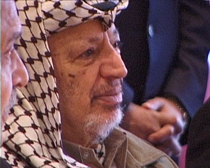 The late PLO chief Yasser Arafat. Photo: Wikipedia.