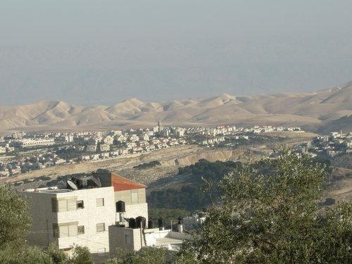 A view of Ma'ale Adumim. Photo: Yoav Dothan via Wikimedia Commons.
