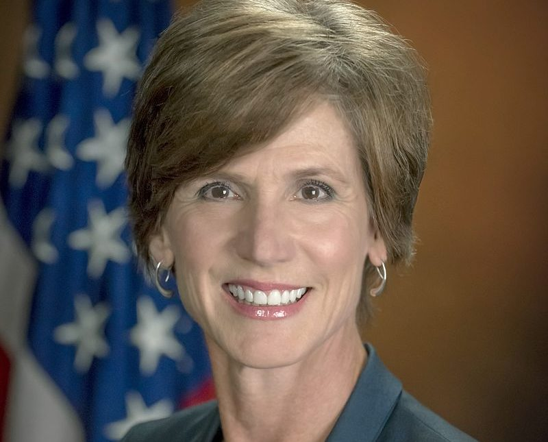 Sally Yates. Photo: Twitter.