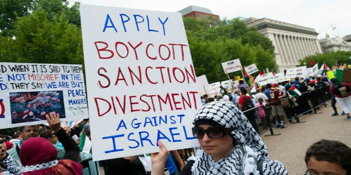 ACLU sues over Kansas law that targets Israel boycotts