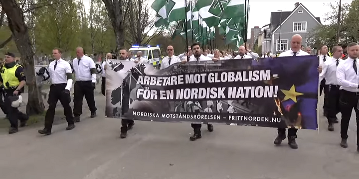 Calls Increase for Ban on Scandinavian Neo-Nazi Group After Synagogues Targeted by Hateful Propaganda on Yom Kippur