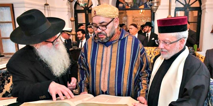 Moroccan King's Visit to Historic Jewish Center Hailed by Community Leaders as Symbol of Diversity