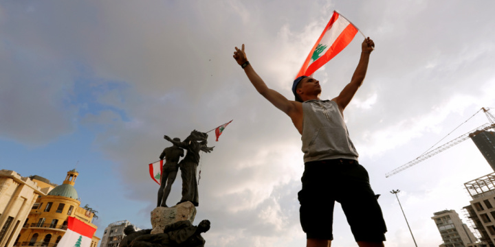 Lebanese Call for an Uprising After Protests Rock Beirut