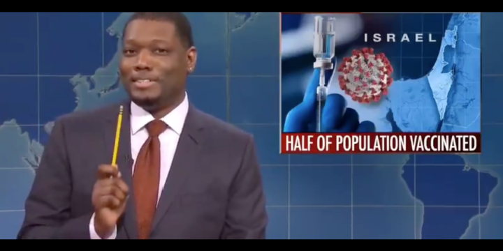 Share Share On Facebook Tweet Share On Twitter Print Print Article Email Email This Article FEBRUARY 22, 2021 6:17 PM0 Israeli Health Minister Rebukes NBC Over 'Dangerous and False' Vaccine Segment on 'SNL'